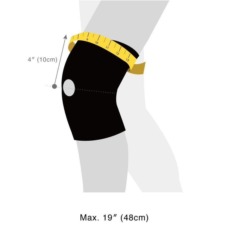 KB30 SportsMed Knee Brace size guide