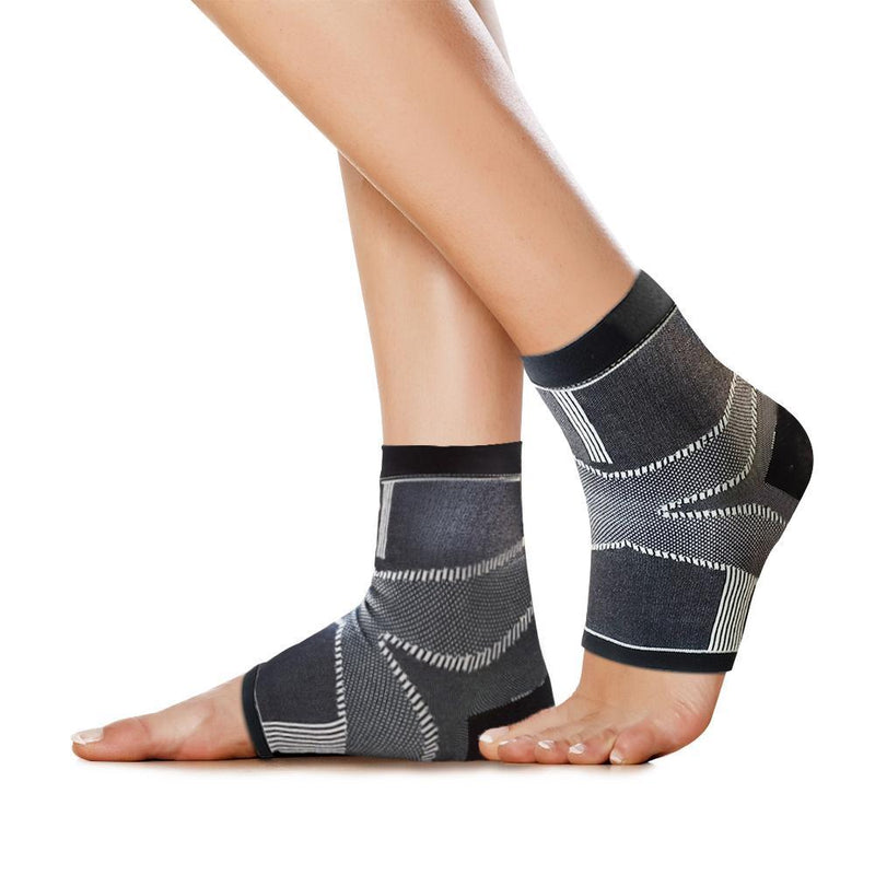 FE90 Plantar Fasciitis Socks on foot