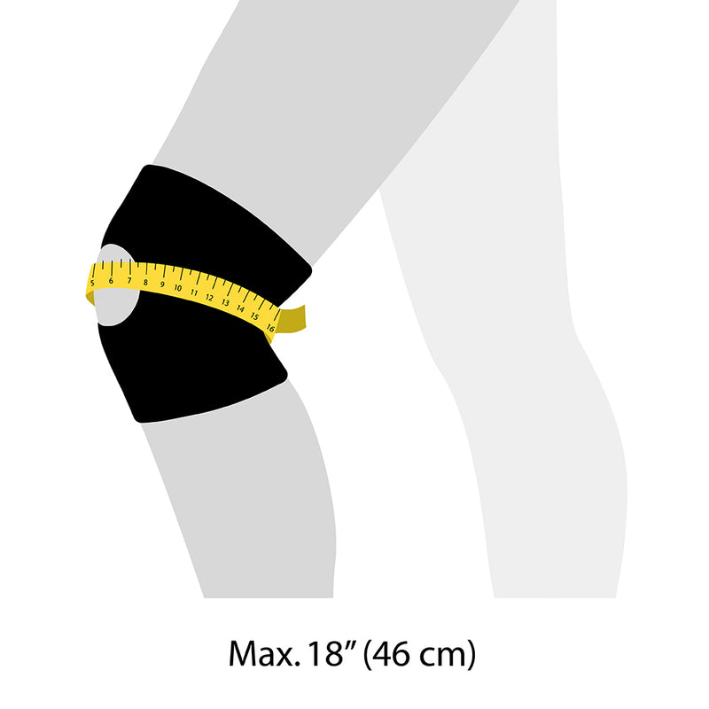 KS10 Knee Support size guide
