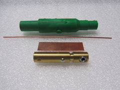 Copper Camlok #8 - #4 FEMALE GREEN