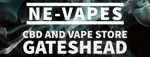Vape and CBD shop in Gateshead