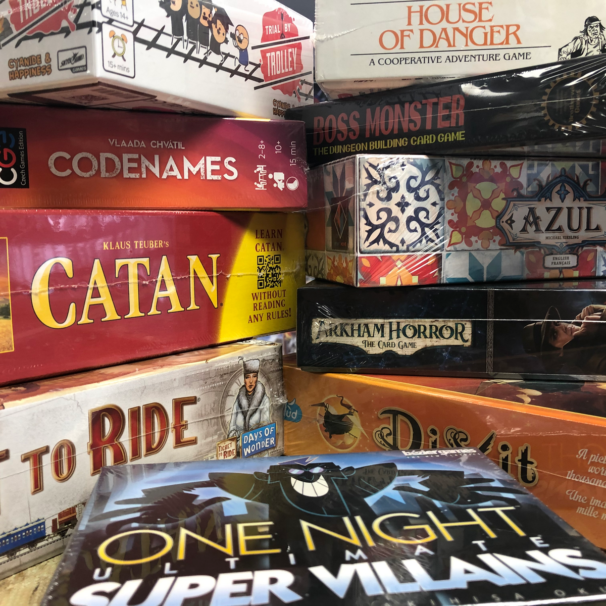 Board Games Newmarket