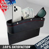 Leather Car Gab Filler Car Seat Console Organizer Pocket Box Holder