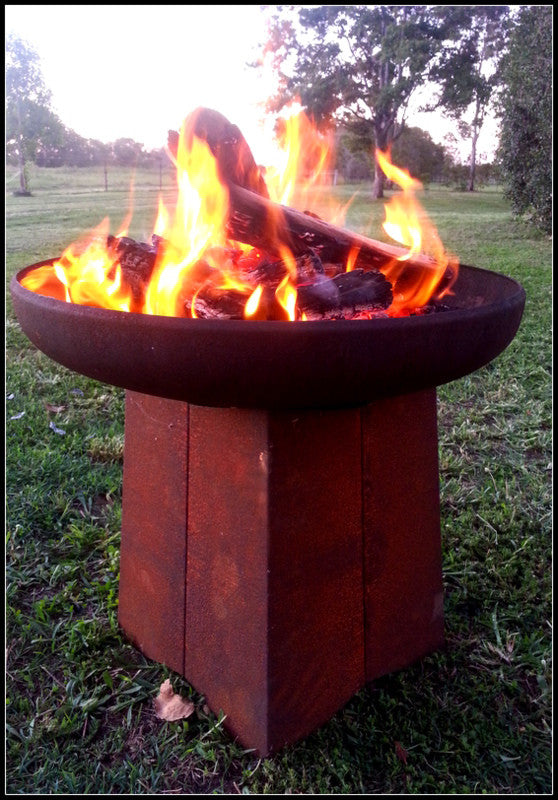 Goanna Outdoor Fire Pits from Yagoona - Yagoona Design Australia