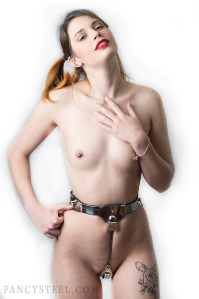 Female Chastity Belt - High Waist