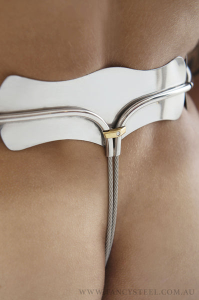 Male Linked Chastity Belt