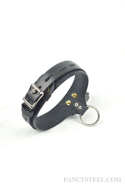 New design Leather electric shock training collar