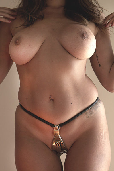 Female Slim fit chastity belt