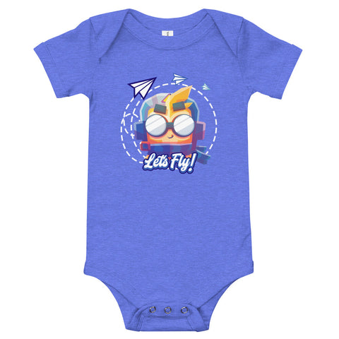 Let's Fly Baby Bodysuit