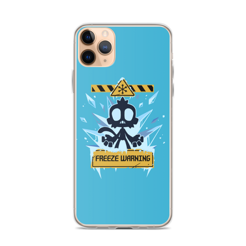 Freeze Warning iPhone Case