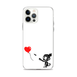 Monkey With Bloon iPhone Case