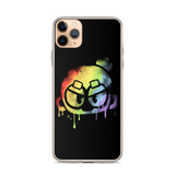 Monkey Graffiti iPhone Case