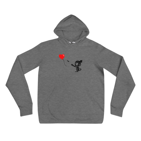 Monkey With Bloon Hoodie (Unisex)