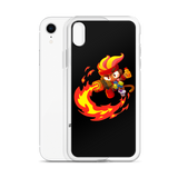 Gwendolin Fire iPhone Case