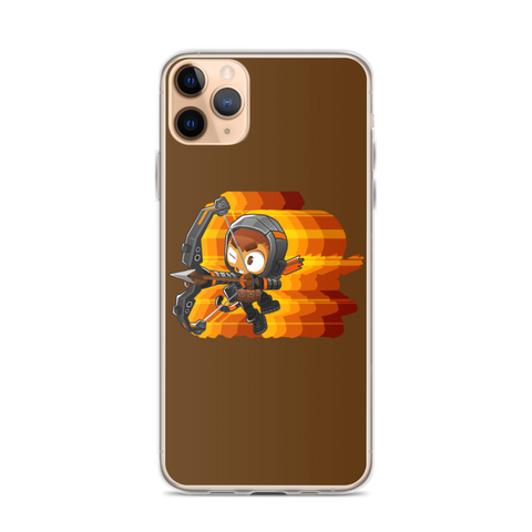 Retro Quincy iPhone Case