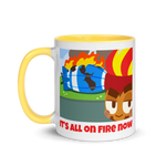 It's All On Fire Now Mug