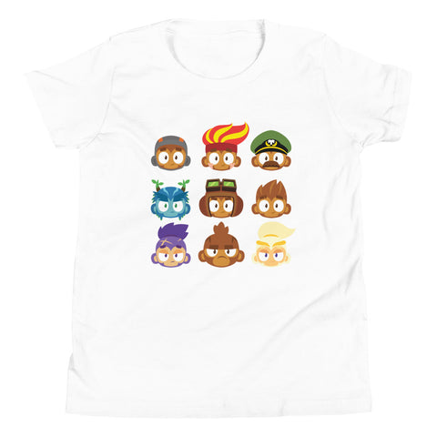 BTD6 Hero Heads Shirt (Youth)