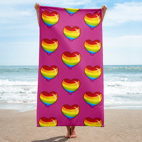 Regen Rainbow Beach Towel
