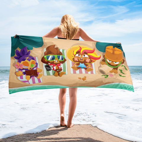 BTD6 Beach Towel