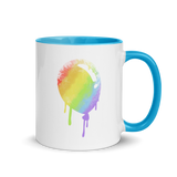 Bloon Spray Paint Mug with Color Inside