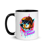 Let's Dance Mug with Color Inside