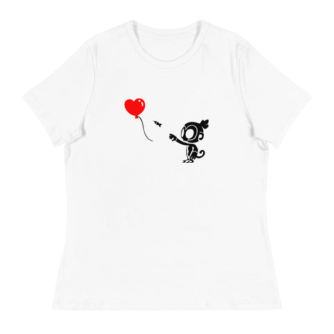 Monkey With Bloon Shirt (Women's)