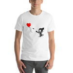 Monkey With Bloon Shirt (Unisex)