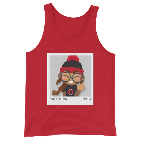 Patch's First Day Tank Top (Unisex)