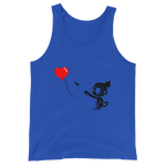 Monkey With Bloon Tank Top (Unisex)