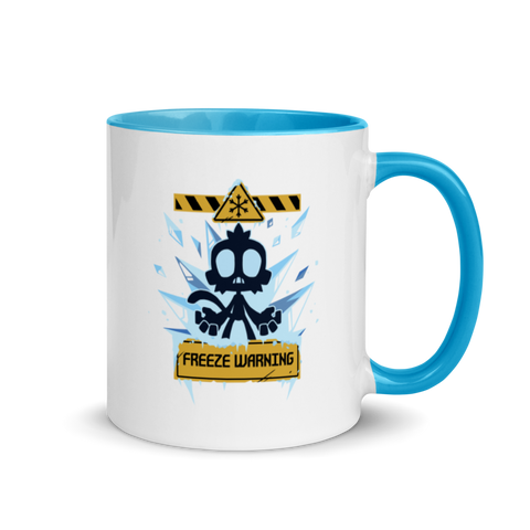 Freeze Warning Mug