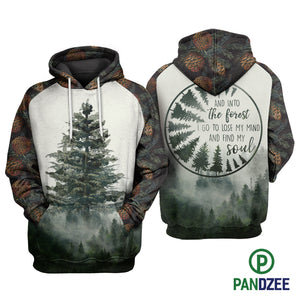 Tree Into The Forest Sublimation Shirt for Men and Women