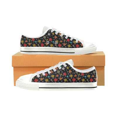 Game DND Pattern Low Top Shoes - Pandzee