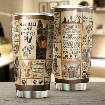 I Found Your Paw Tumbler Cup - Pandzee