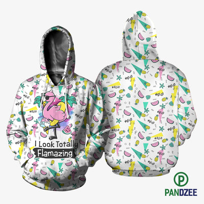 I Look Totally Flamazing Sublimation Shirt for Men and Women - Pandzee