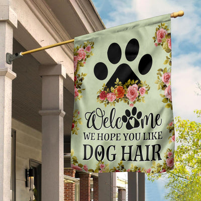 Dog Hair Garden Flag - Pandzee