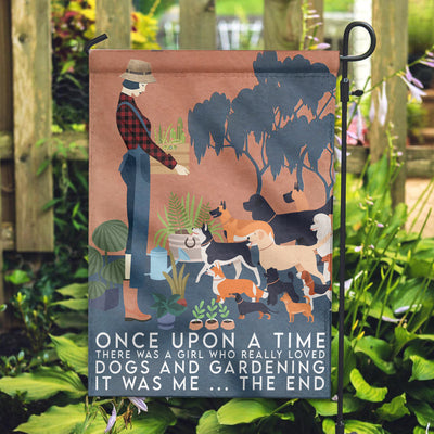 Once Upon A Time Garden Flag - Pandzee