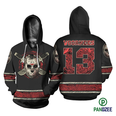 Voorhees 13 Sublimation Shirt for Men and Women - Pandzee