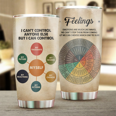 I Can't Control Anyone Else Tumbler Cup - Pandzee