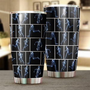 Running X-Ray Tumbler Cup