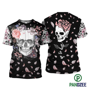Skull Go To Hell Sublimation Shirt for Men and Women