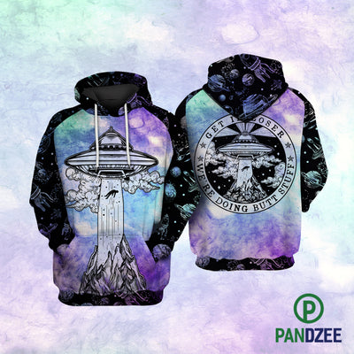 Get In Loser Tie Dye Sublimation Shirt for Men and Women - Pandzee