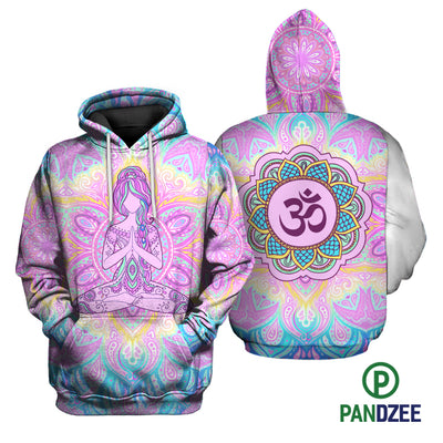 Girl Yoga Sublimation Shirt for Men and Women - Pandzee