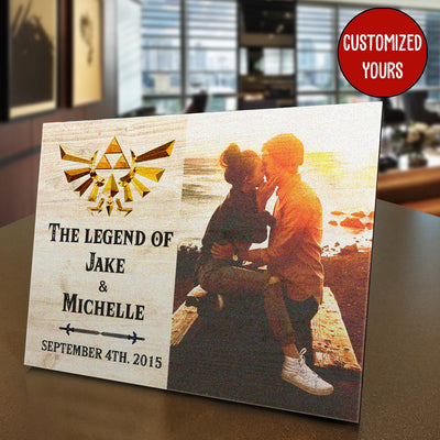Game The Legend Custom Photo Panel for Tabletop Display - Pandzee