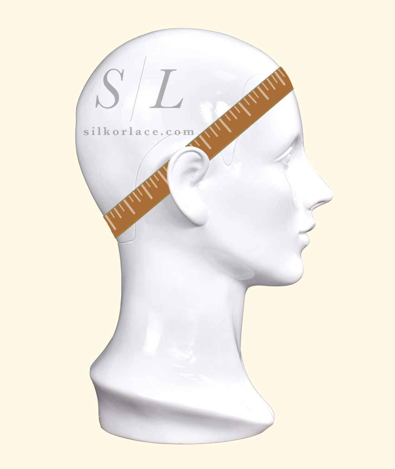 wig circumference how to measure