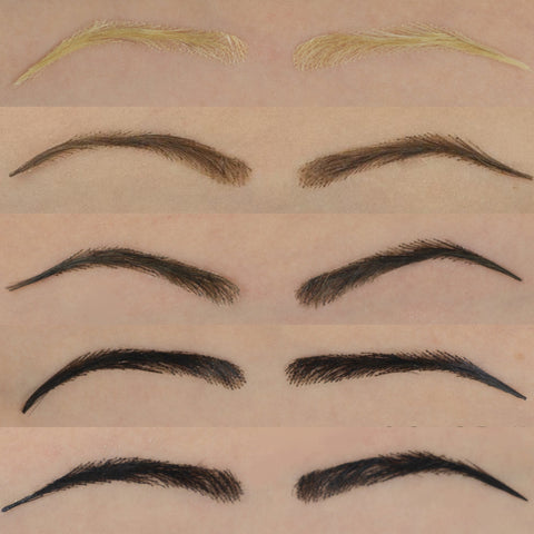 lace eyebrows 5 colors