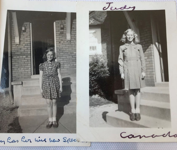Chelsea's Grandmother as a teenager