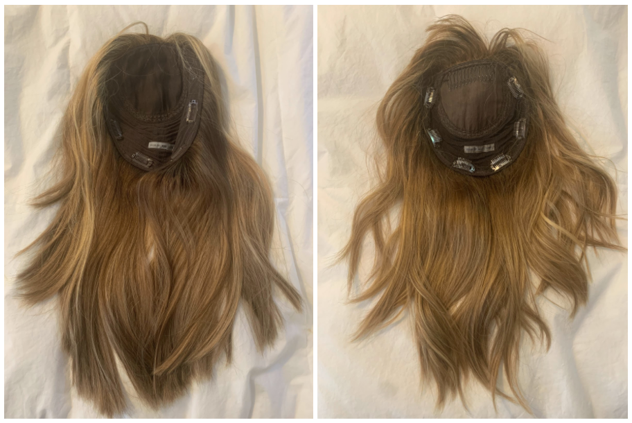 hair topper with bangs