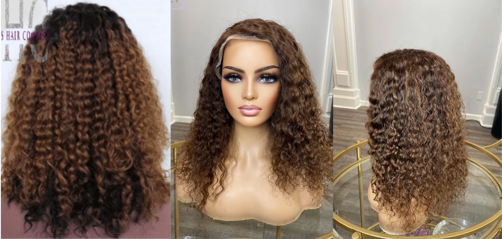 Curly Lace wig for sale - Curly lace frontal wig