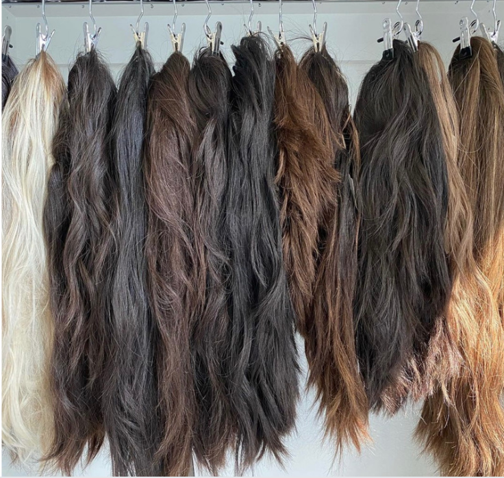 High quality human hair wig for sale - Realistic wig on sale - Real human hair wigs