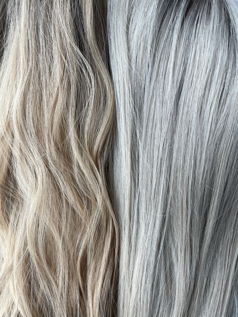 silk or lace - warm vs cool toned blonde wig